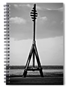 Crosby Beach Spiral Notebook