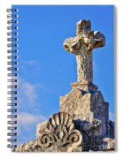 Cross 1-greenwood Cemetary Spiral Notebook