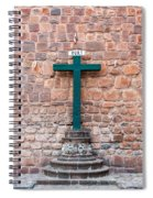 Cross And Cusco Cathedreal Spiral Notebook