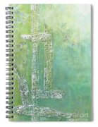 Cross And Fish  Spiral Notebook