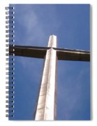 Cross At St. Augustine Spiral Notebook
