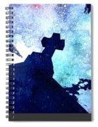Blue Cross Spiral Notebook