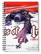 Cross Of Iron Theatrical Poster 1977 Spiral Notebook
