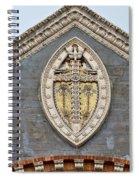 Cross On High Spiral Notebook