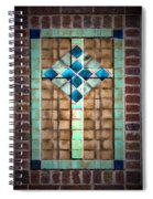 Cross On The Wall Spiral Notebook
