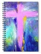 Cross - Painting #5 Spiral Notebook