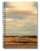 Cross Road In New Mexico Spiral Notebook