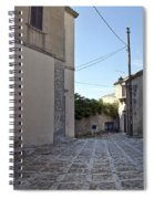 Cross Road In Sicily Spiral Notebook