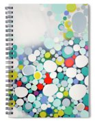 Cross The Line Spiral Notebook