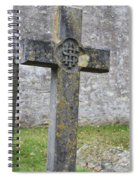 Cross Tombstone St. Mary's Wedmore Spiral Notebook
