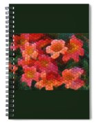 Cross Vine 2 Spiral Notebook