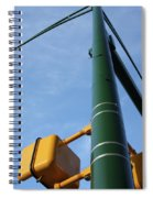 Cross Walk Pole Spiral Notebook
