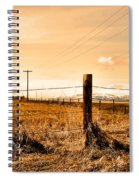 Crossed Wires Spiral Notebook