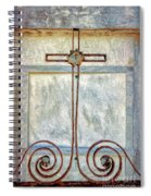 Crosses Voided - Artistic Spiral Notebook
