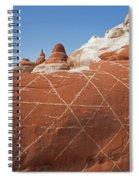 Crosshatch Spiral Notebook