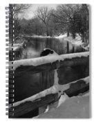 Crossing Cedar Creek Spiral Notebook