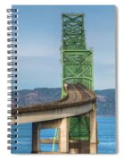 Crossing Columbia Spiral Notebook
