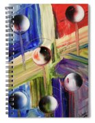 Crossing Dimensions Spiral Notebook