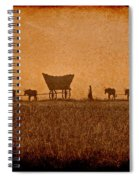 Crossing Kansas Spiral Notebook