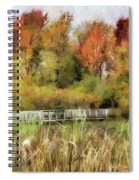 Crossing The Marsh Spiral Notebook