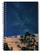 Crossing The Milky Way Spiral Notebook