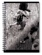 Crossing The Shadow Line Spiral Notebook
