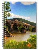 Crossing The Susquehanna Spiral Notebook