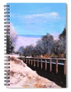 Crossing The Wash Spiral Notebook