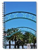 Crosswalk Of Valor Spiral Notebook
