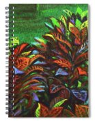 Crotons 6 Spiral Notebook