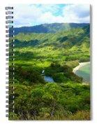 Crouching Lion Trail Spiral Notebook