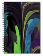 Crow Converses With Eagle Spiral Notebook