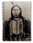 Crow King Spiral Notebook
