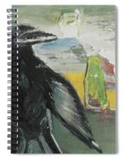 Crow Ruckus Spiral Notebook