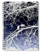 Crow Silhouette  Spiral Notebook