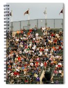 Crowd At Coors Field Spiral Notebook