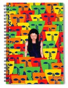 Crowd Spiral Notebook