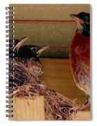 Crowded House Spiral Notebook