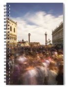 Crowded On St. Mark's Square Spiral Notebook