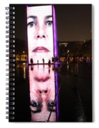 Crown Fountain Reflections Spiral Notebook