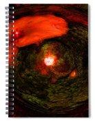 Crown In The Garden Spiral Notebook
