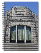 Crown Point Vista House Spiral Notebook