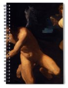 Crowned Love And Profane Love 1623 Spiral Notebook