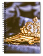 Crowned Tiara Jewellery Spiral Notebook