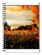 Crows And Corn Spiral Notebook