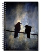 Crows And Sky Spiral Notebook