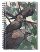 Crows Spiral Notebook