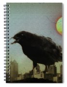 Crowzilla Spiral Notebook