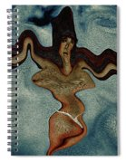 Crucified Woman Surreal I Spiral Notebook