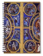 Crucifixion And Resurrection  Spiral Notebook